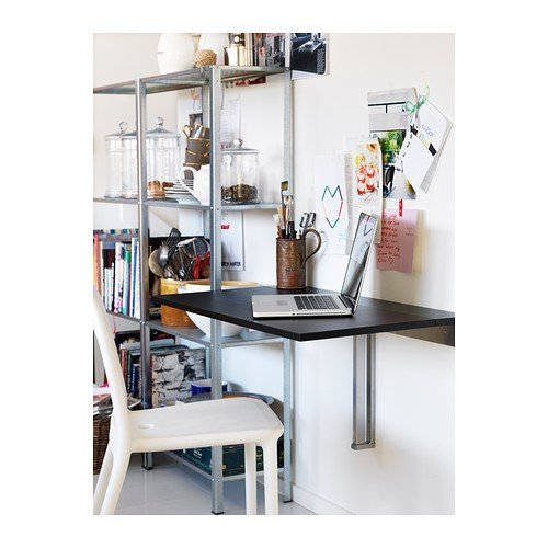 ikea wandklapptisch bjursta klapptisch in 90x50cm k chentisch laptoptisch kindertisch com. Black Bedroom Furniture Sets. Home Design Ideas