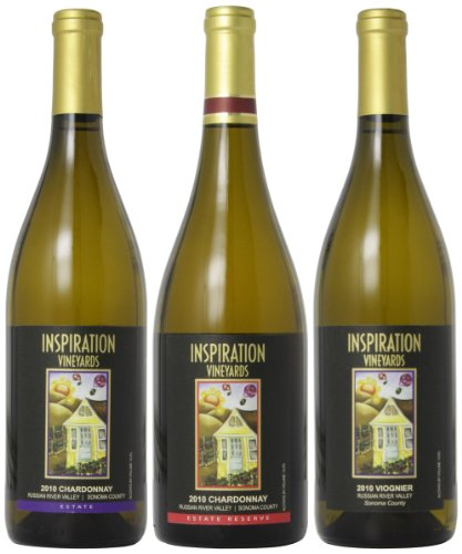 Inspiration Vineyard Russian River Valley White Wine Mixed Pack, 3 X 750 Ml
