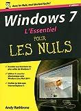 echange, troc Andy RATHBONE - WINDOWS 7, 2E L'ESSENTIEL POUR LES NULS