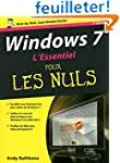 WINDOWS 7 L ESSENTIEL 2E EDITION POUR...