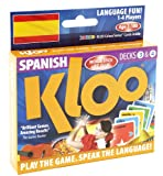 KLOO's Learn to Speak Spanish Language Card Games Pack 2 (Decks 3 & 4)