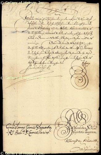 Letter from Ferdinand III
