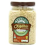 RiceSelect Organic Texmati Brown Rice, 32-Ounce Jars (Pack of 4) ~ Rice Select