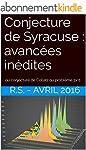 Conjecture de Syracuse : avanc�es in�...