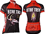 Retro Womens Star Trek Cycling Jersey (XX-Large)