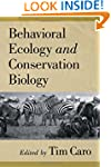 Behavioral Ecology and Conservation B...