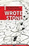 I Wrote Stone: The Selected Poetry of Ryszard Kapuscinski (Biblioasis International Translation Series) (1897231377) by Kapuscinski, Ryszard