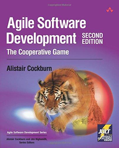 Agile Software Development:The Cooperative Game (Agile Software Development Series)