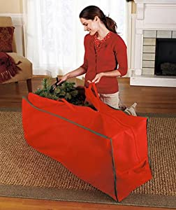 Holiday Artificial Christmas Tree Storage Bag Holds a 6' Tree