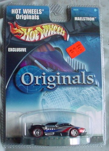 Hot Wheels Originals Exclusive Maelstrom Black Chrome - 1