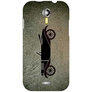 Micromax A 117 Bike Matte Finish Phone Cover - Matte Finish Phone Cover
