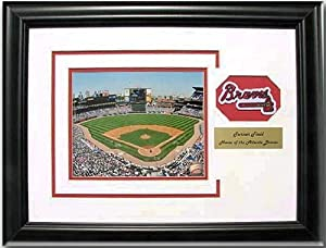 CGI Sports Memories Atlanta Braves Turner Field Photo Frame with 3D Double Mat by CGI Sports Memories