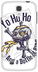 The Racoon Lean Pirate Santa hard plastic printed back case/cover for Samsung Galaxy S4