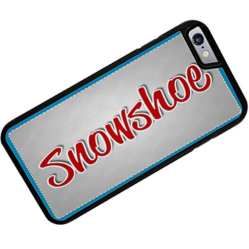 Rubber Case for iPhone 6 Plus Snowshoe, Cat Breed
