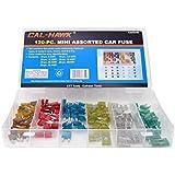 Cal-Hawk CAPCFM Assorted Car Truck Mini Fuse 5,7.5,10,15,20,25,30 Amp