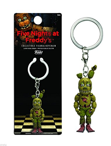 Funko Five Nights At Freddy's Spring Trap Figure Key Chain Backpack Hanger