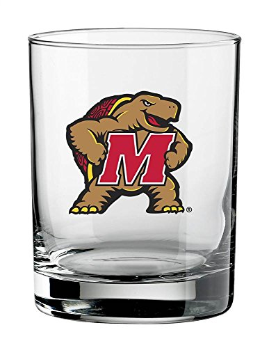 ncaa-maryland-terps-set-of-4-double-old-fashioned-glasses-14-ounce