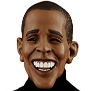 Deluxe Barack Obama Adult Mask Size One-Size