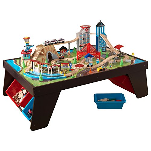 KidKraft Aero City Train Set & Table