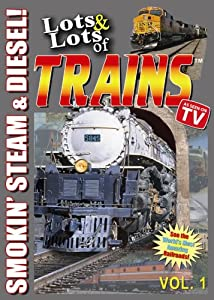 Lots and Lots of Trains DVD Vol 1