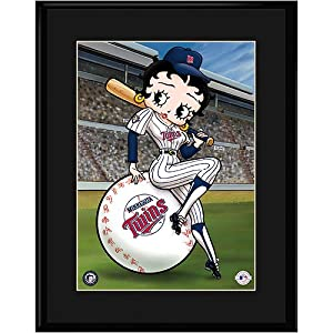 Minnesota Twins MLB Betty On Deck Collectible by Toon Art