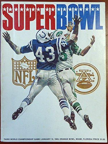 Vince Lombardi Autographed 1969 Super Bowl Program Green Bay Packers PSA/DNA #AB04669 (1969 Super Bowl Program compare prices)