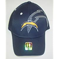 San Diego Chargers Structured Flex Reebok Hat Size S/M