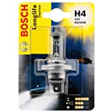Bosch, Car Light Bulb, H4 Longlife Daytime, 12 V / 55 W