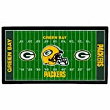 NFL Green Bay Packers 28 x 52-Inch Floor Mat