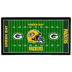 NFL Green Bay Packers 28 x 52-Inch Floor Mat by WinCraft