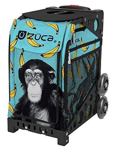 Zuca-Monkey-Business-Sport-Insert-Bag-with-Sport-Frame-Black