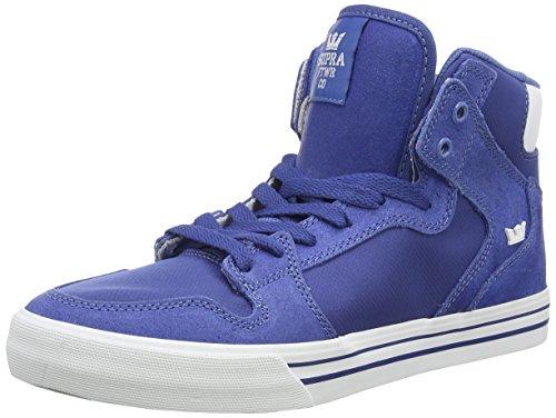 Supra VAIDER, Sneaker alta Unisex - adulto, Blu (Blau (ROYAL - WHITE   ROY)), 42.5