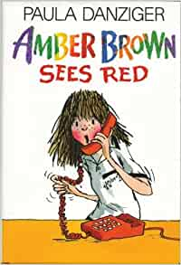 amber brown sees red book report Amber brown's going through a growth spurt    and her body's not the only thing  that's changing her mom and max are engaged her dad is moving back.