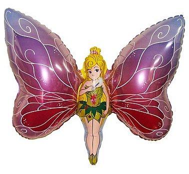 Huge Fairy/ Butterfly Foil Balloon 24''