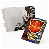 Transformers Thank You Notes w/ Env. (8ct)* by Designware