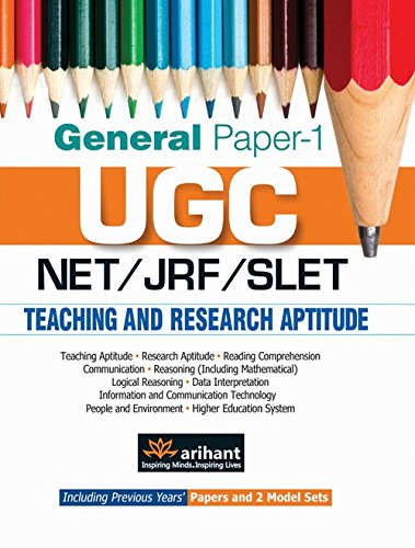 general paper on teaching & research aptitude books