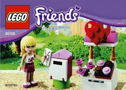 LEGO Friends Exclusive Set #30105 Stephanies Mailbox Bagged - 1