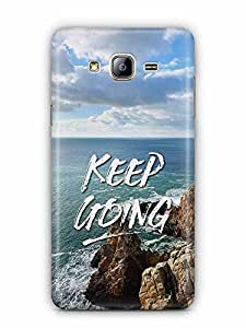 YuBingo Keep Going Designer Mobile Case Back Cover for Samsung Galaxy On 5 Pro