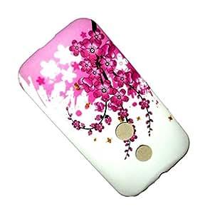 Gioiabazar New Designer Soft Tpu Silicon case cover Back Skin for Motorola Moto E XT1022 #8