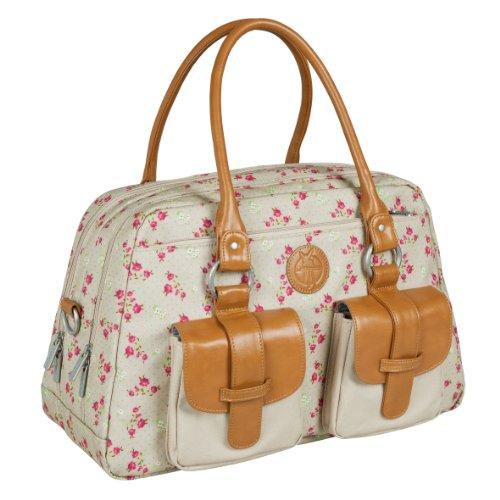 lassig-sac-a-langer-vintage-metro-fairy-beige-rose-sac-a-langer-multifonctionnel-pour-maman-pratique