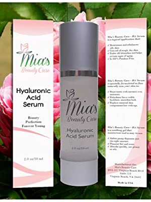 Hyaluronic Acid Serum - Anti-Aging, Anti-Wrinkle Skin Care