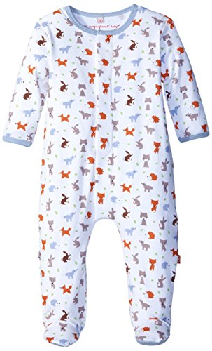 Magnificent Baby Baby-Boys Woodland Origami Footie