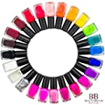 24 Vernis � ongles - 24 couleurs dive...