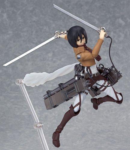 figma 進撃の巨人 ミカサ・アッカーマン (ノンスケール ABS&PVC 塗装済み可動フィギュア)