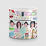 Amey Friends Collage Coffee Mug - 325 Ml