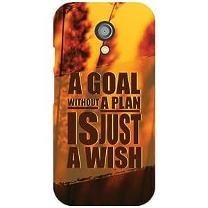 Motorola Moto G (2nd Gen) Back cover - A Goal Plan Designer cases