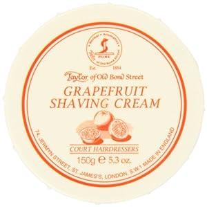 Taylor of Old Bond Street Shaving Cream Bowl, Grapefruit, 5.3 Ounce
