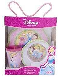Zak Designs Princess 3-Piece Children's Set