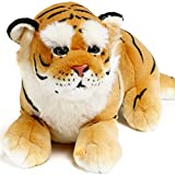 Aung the Burmese Tiger   27 Inch Large Stuffed Animal Plush   By VIAHART