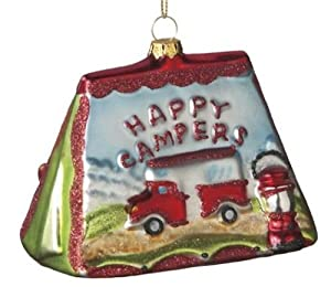 Happy Campers Christmas Ornament